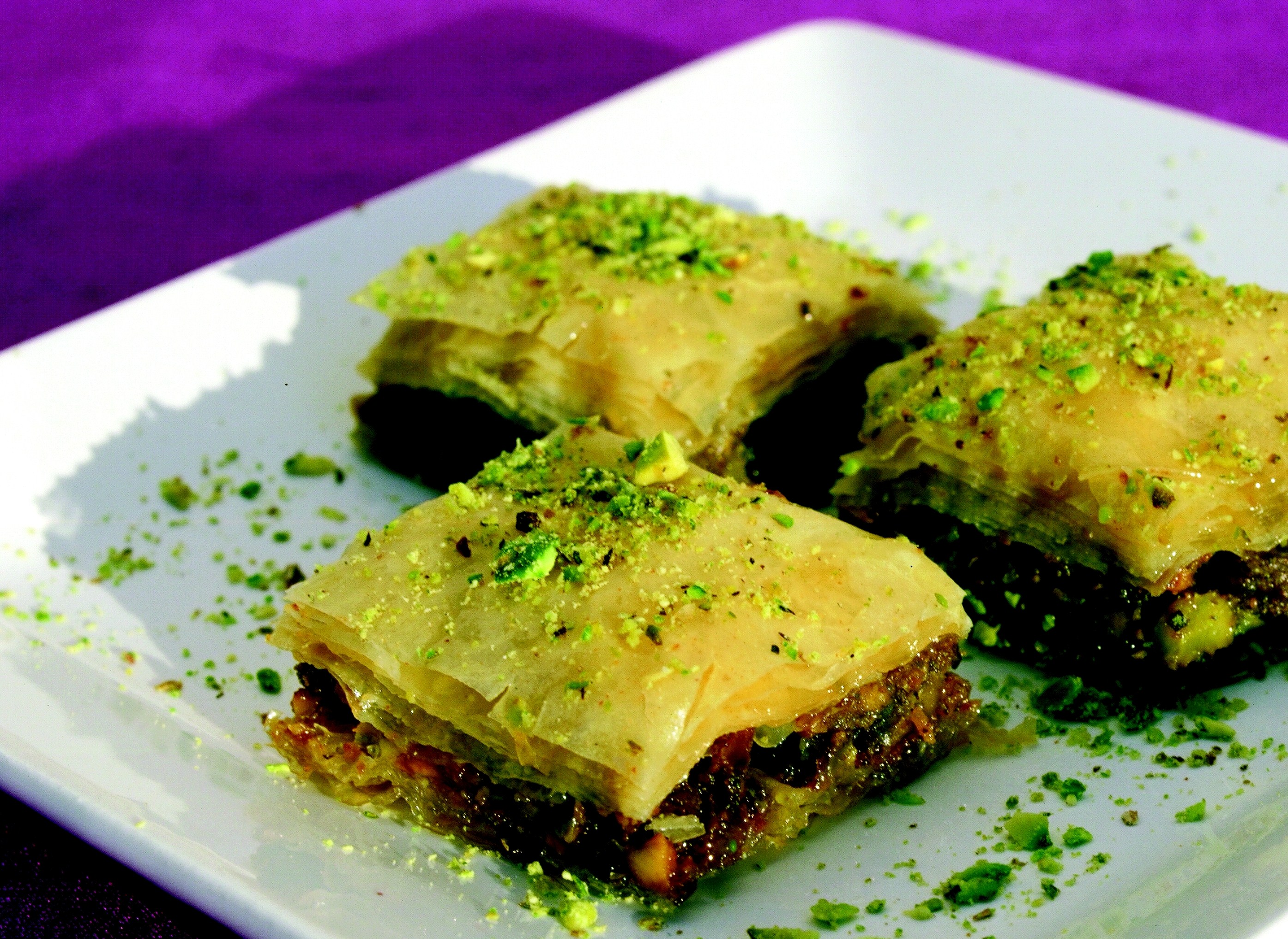 Melt in your mouth baklava culinary thymes dessert recipes forumfinder Choice Image