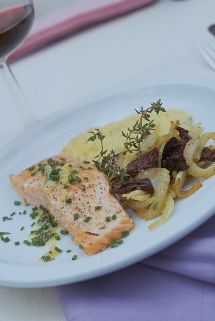 Salmon entree recipe