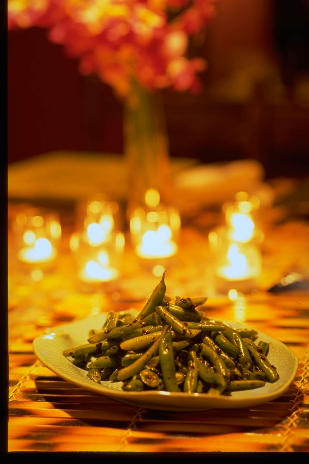 Stir Fried Green Beans with Chinese Preserved Black Beans