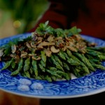 asparagus and mushroom saute recipe