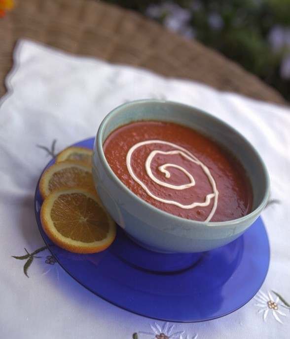 cold soup recipe for summer