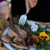 Roast Leg of Lamb with Spring Herbs