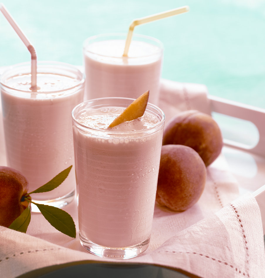 Just Peachy: Tickled Peach Milkshake